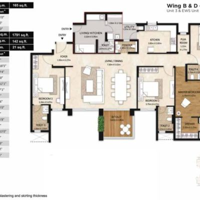 mahindra-windchimes-4-bedroom-floor-plan