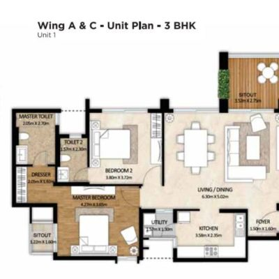 mahindra-windchimes-phase-2-floor-plan